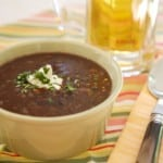 Healthy and Hearty Black Bean Soup
