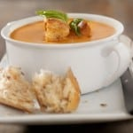 Simple &amp; Delicious: Low Fat Creamy Tomato Basil Soup
