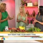 Traci Mitchell on TODAY Show talking Eating Right for Your Body Type