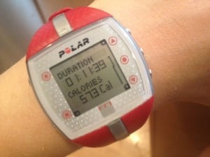 Fly Wheel Calories Burned