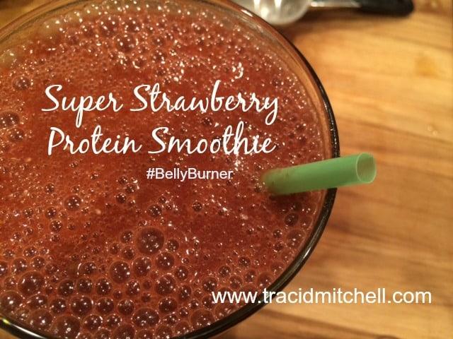 Super Strawberry Protein Smoothie