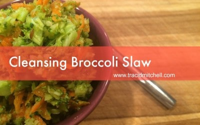 Cleansing Broccoli Slaw