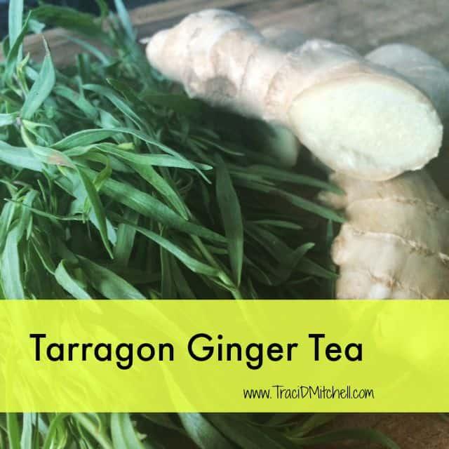 Tarragon Ginger Tea