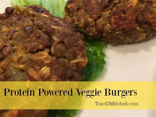 Protein Powered Veggie Burgers