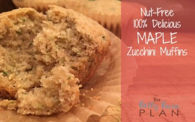 Nut Free Maple Zucchini Muffins