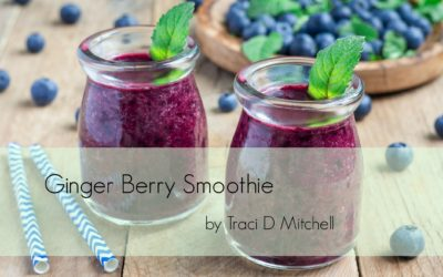 Ginger Berry Smoothie