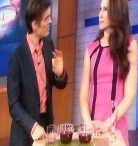 Traci Mitchell and Dr. Oz talk about easy weight loss tips