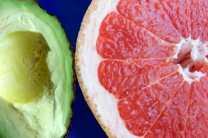 Detox Monday: Cilantro Avocado Grapefruit Salad