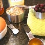 Gluten Free Blueberry Muffin Ingredients
