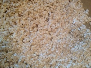 Oats soaked for 24 hours, then spread on parchment and toasted at 250 for 90 minutes.