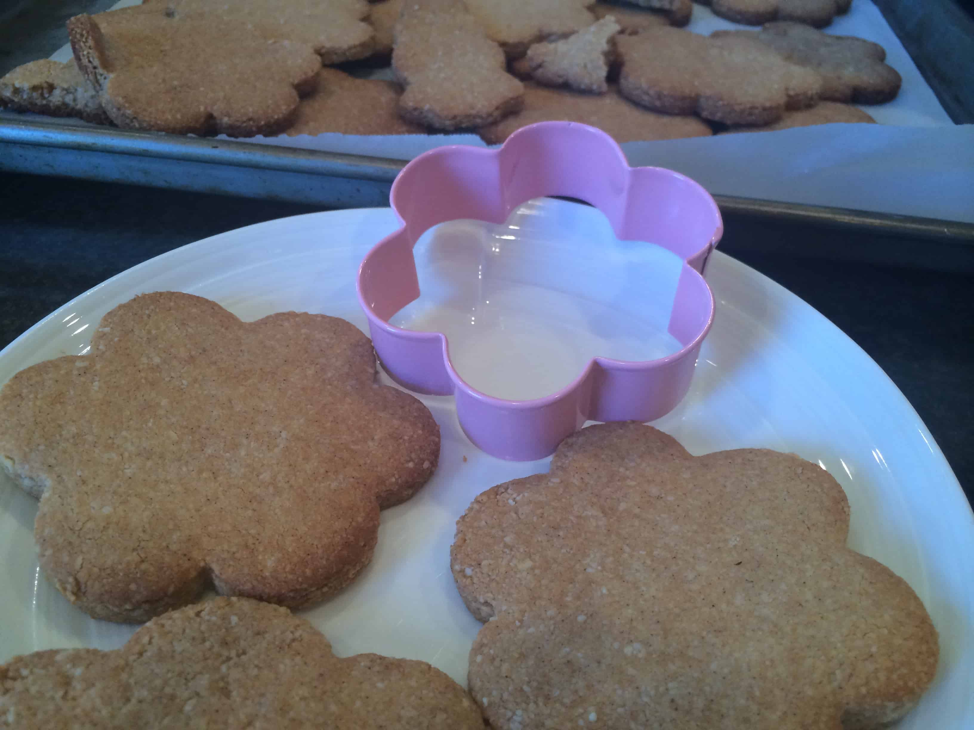 Grain Free Sugar Easter Cookies