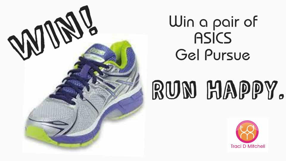 GIVEAWAY: Asics Gel Pursue Running Shoe ($110 value)