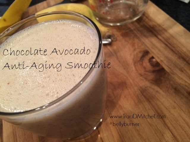 Chocolate Avocado Anti-Aging Smoothie
