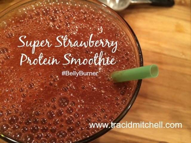 Super Strawberry Protein Smoothie