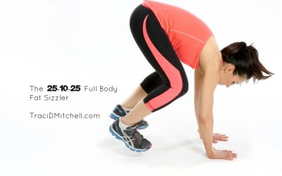 25-10-25 Full Body Fat Sizzler Workout