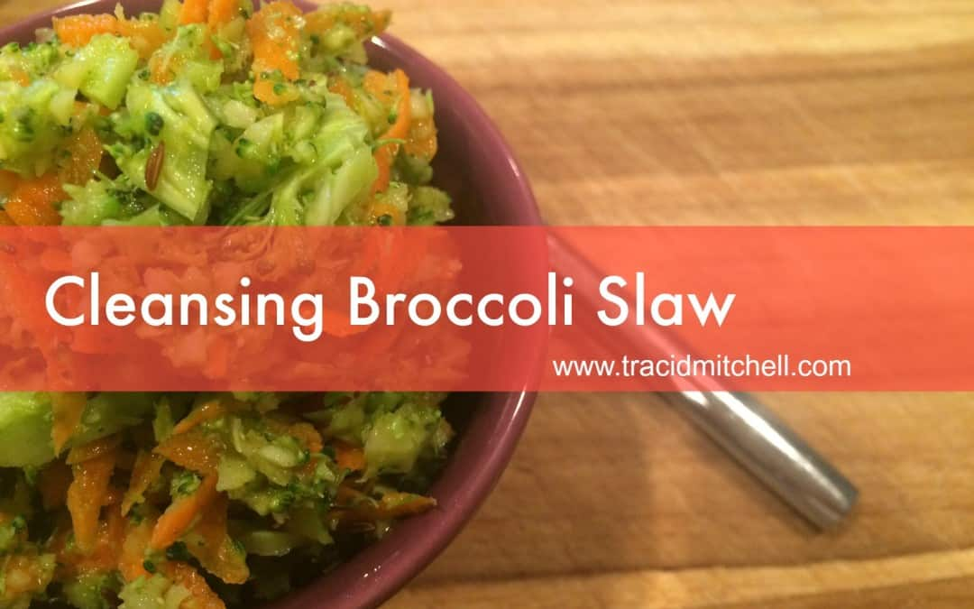 Cleansing Broccoli Slaw