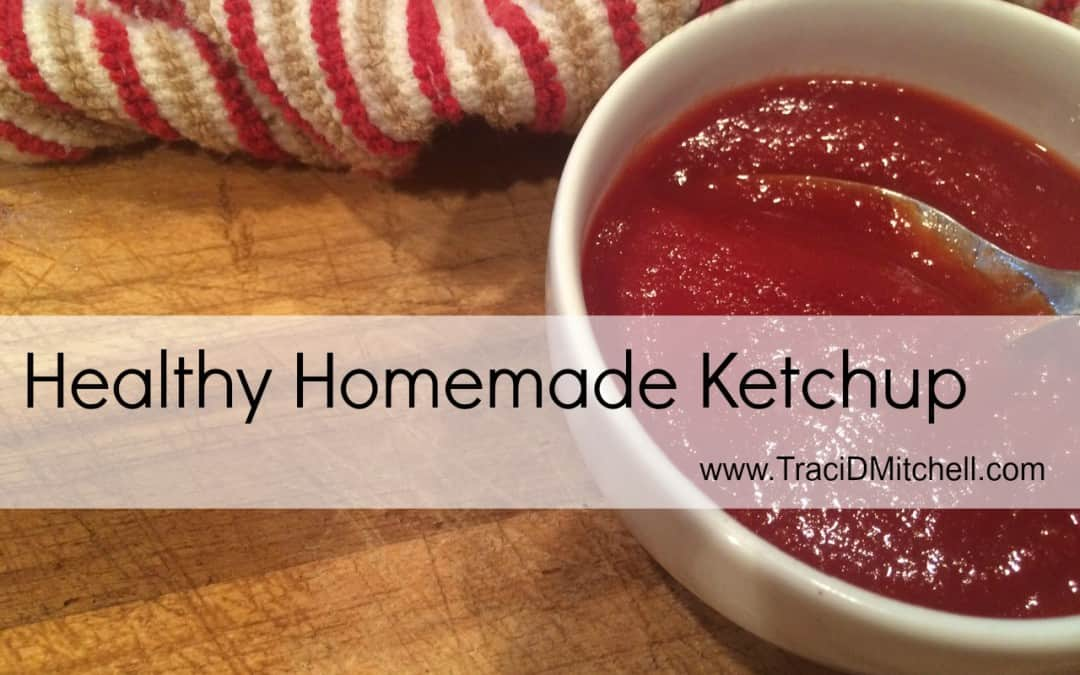 Healthy Homemade Ketchup
