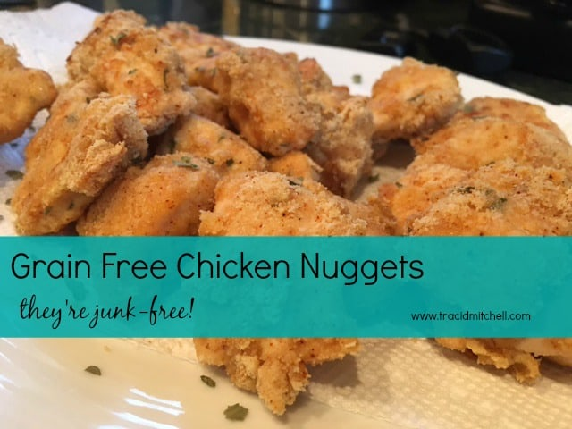 Grain Free Chicken Nuggets