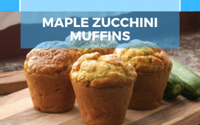 Nut Free Maple Zucchini Muffins