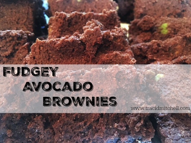 Fudgey Avocado Brownies