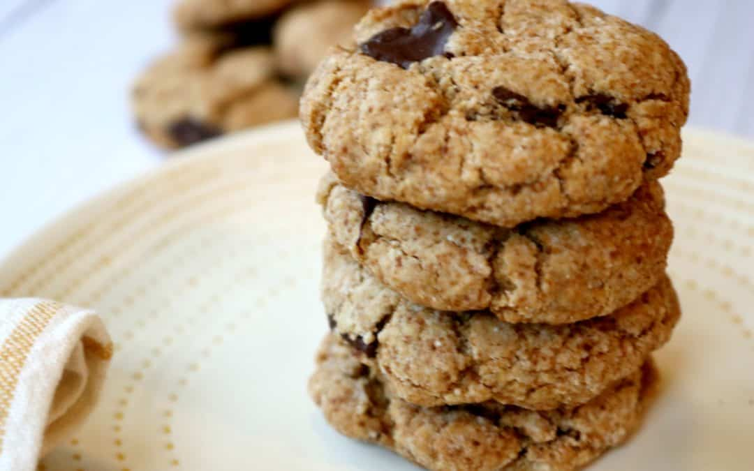 Super Simple Paleo Chocolate Chip Cookies