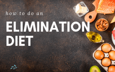 How to Do An Elimination Diet (with free downloadable charts)