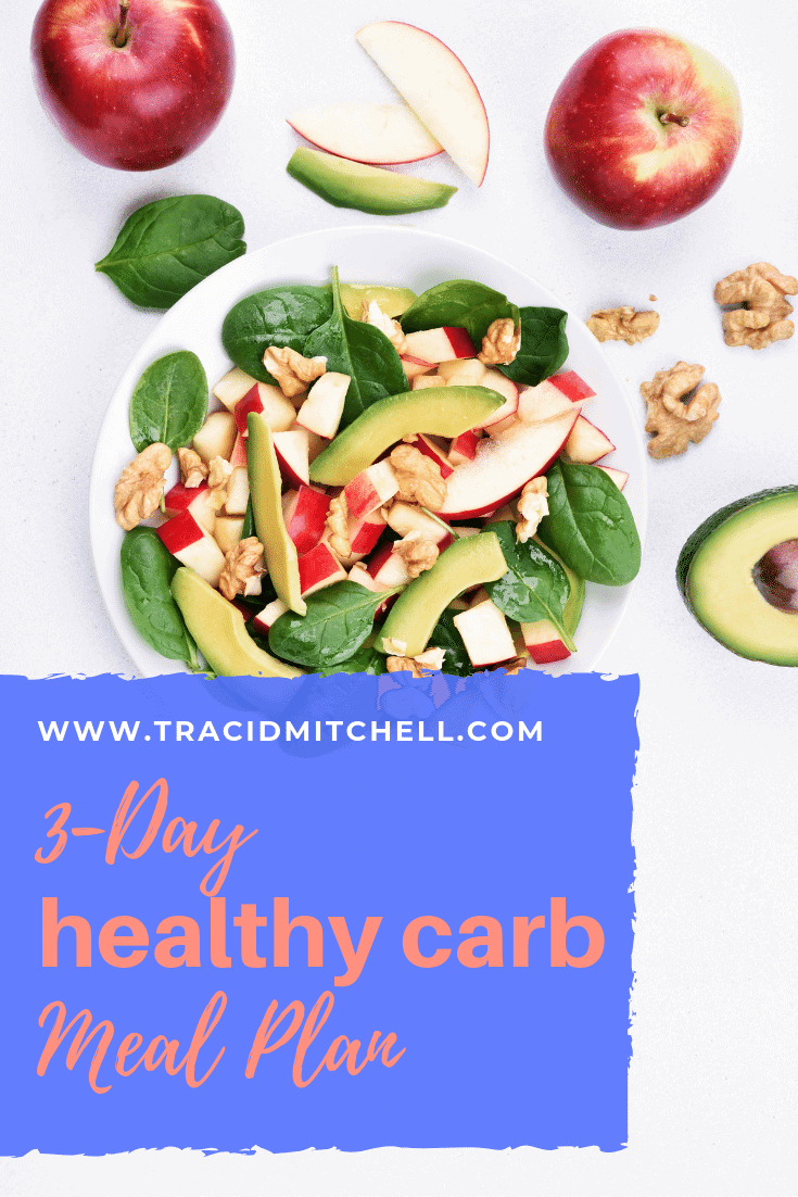 3-Day Healthy Carb Meal Plan